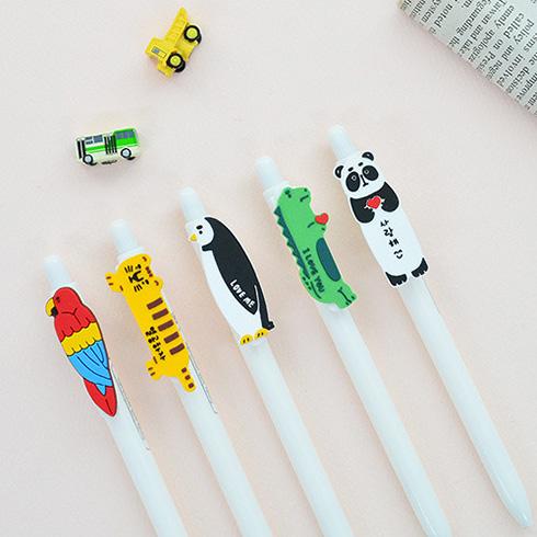 [잼스튜디오] Carnival ball pen ver.2 / 동물캐릭터 볼펜