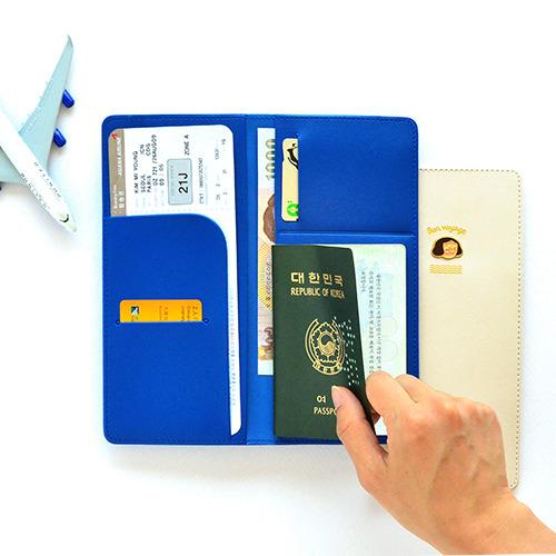 [잼스튜디오] Du-dum Travel Organizer / 여권 케이스 ver.2 장지갑형