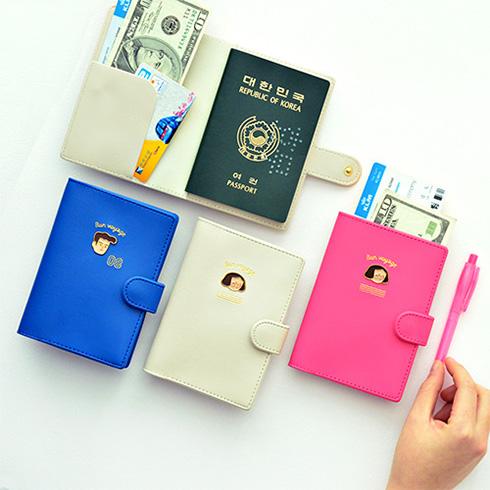 [잼스튜디오] Du-dum PASSPORT HOLDER / 여권케이스 ver.1