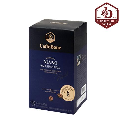 [카페베네] 마노 아프리카 아메리카노 커피 100T