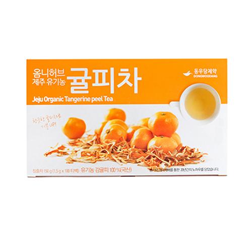 [동우당제약] 제주 유기농 귤피차 (100티백)
