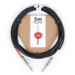 [스쿨뮤직]hussh Silent Cable 5m (Black)