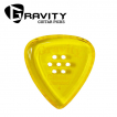 [스쿨뮤직]Gravity Pick - Classic Standard 4.0mm Polished Multi-Hole Yellow (GCLS4PM)